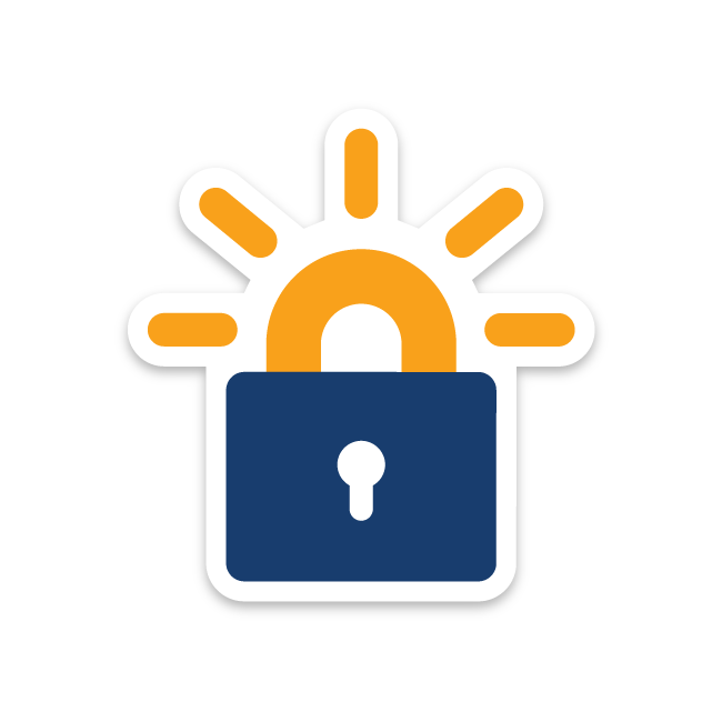 Ce site est crypté et sécurisé grâceà Let's Encrypt'
