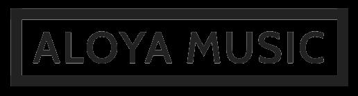 aloya music logo